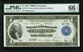 Low Serial Number D298A Fr. 718 $1 1918 Federal Reserve Bank Note PMG Gem Uncirculated 66 EPQ