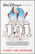 """Movie Posters:Animation, 101 Dalmatians & Other Lot (Buena Vista, R-1985). Folded, Very Fine. One Sheet (27"""" X 41"""") & Special Edition Print Wi..."""