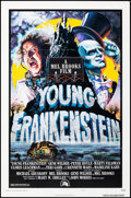 """Movie Posters:Comedy, Young Frankenstein (20th Century Fox, 1974). Flat Folded, Very Fine-. One Sheet (27"""" X 41"""") Style B. John Alvin Artwo..."""