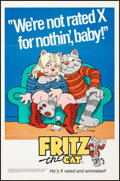 """Movie Posters:Animation, Fritz the Cat (Cinemation Industries, 1972). Folded, Very Fine-. One Sheets (3) (27"""" X 41"""") and Pressbooks (5 pgs, 10"""" X 14""""... (Total: 4 Items)"""