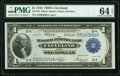 Fr. 720 $1 1918 Federal Reserve Bank Note PMG Choice Uncirculated 64 EPQ