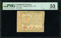 Continental Currency January 14, 1779 $70 PMG About Uncirculated 53