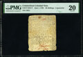 Connecticut June 1, 1780 20s Contemporary Counterfeit PMG Very Fine 20