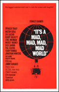 """Movie Posters:Comedy, It's a Mad, Mad, Mad, Mad World (United Artists, 1963). Fine+ on Linen. One Sheet (27"""" X 41"""") Style B. Saul Bass Artwork. Co..."""
