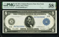 Fr. 851a $5 1914 Federal Reserve Note PMG Choice About Unc 58 EPQ