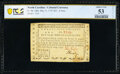 Colonial Notes:North Carolina, North Carolina May 15, 1779 $25 A Free Commerce PCGS Banknote About Unc 53 Details.. ...