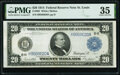 Fr. 995 $20 1914 Federal Reserve Note PMG Choice Very Fine 35