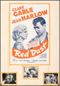"""Movie Posters:Romance, Red Dust & Other Lot (MGM, R-1963). Folded, Good/Very Good. One Sheets (2) (27"""" X 41"""") and Photos (3) (8"""" X 10""""). Rom..."""