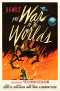 Movie Posters:Science Fiction, The War of the Worlds (Paramount, 1953). Very Fine- on Lin...