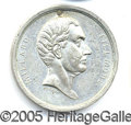 Political:Tokens & Medals, MILLARD FILLMORE 1856-1. The largest campaign medal for his cand...