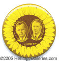 "Political:Pinback Buttons (1896-present), 2 1/8"" LANDON KNOX SUNFLOWER JUGATE. Very rare, key 2 1/8"" Lando..."