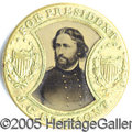 Political:Ferrotypes / Photo Badges (pre-1896), 1864 FREMONT-COCHRANE MATE. The 1864 Fremont-Cochrane mate, one ...