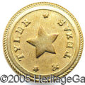 "Political:Ferrotypes / Photo Badges (pre-1896), RARE AND IMPORTANT ""TYLER AND TEXAS"". Exceedingly rare and impor..."