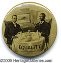 "Political:Pinback Buttons (1896-present), TR ""EQUALITY"" BUTTON. Rare and popular TR ""Equality"" button, sho..."