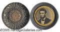 Political:Ferrotypes / Photo Badges (pre-1896), STUNNING, MINT LINCOLN FERROTYPE POCKET PIECE. Stunning, mint Li...