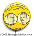 "Political:Pinback Buttons (1896-present), 1900 MCKINLEY-ROOSEVELT 1 1/4"" JUGATE. Gorgeous and rare 1900 Mc..."