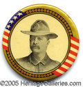 "Political:Pinback Buttons (1896-present), 2 1/4"" TR PIN. Most impressive and rare large 2 1/4"" TR pin, in ..."