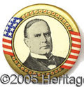 "Political:Pinback Buttons (1896-present), McKinley Pin. 1 1/4"" pin...."
