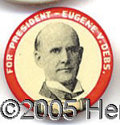 Political:Pinback Buttons (1896-present), DEBS PIN. Nicecondition....