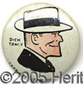 DICK TRACY PEP PIN. U Dick Tracy /U Pep pin, very clean