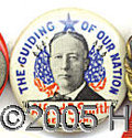 """Political:Pinback Buttons (1896-present), GREAT RED, WHHITE AND BLUE 7/8"""" SMITH. Greatred, white and..."""
