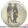 """Political:Pinback Buttons (1896-present), 3 1/2"""" TR with Uncle Sam Button. Rare and popular 3 1/2"""" TR with..."""