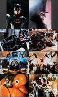 """Movie Posters:Action, Batman Returns (Warner Bros., 1992). Very Fine+. Lobby Card Set of 8 (3 Sets) Identical (11"""" X 14"""") Special Collector's Edit... (Total: 24 Items)"""