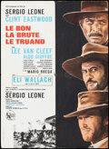 Movie Posters:Western, The Good, the Bad and the Ugly (United Artists, R-1970s). ...