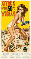 Movie Posters:Science Fiction, Attack of the 50 Foot Woman (Allied Artists, 1958). Fine o...