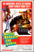 """Movie Posters:Science Fiction, Battle Beneath the Earth (MGM, 1968). Folded, Fine/Very Fine. One Sheet (27"""" X 41""""). Science Fiction.. ..."""