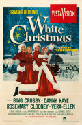 Movie Posters:Musical, White Christmas (Paramount, 1954). Fine/Very Fine on Linen...