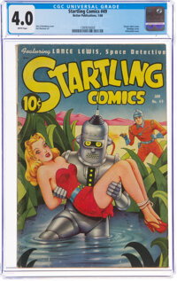 Startling Comics #49 (Better Publications, 1948) CGC VG 4.0 White pages