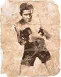 """Movie/TV Memorabilia:Props, Burgess Meredith """"Mickey"""" in His Youth Prop Photograph fro..."""