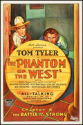 Movie Posters:Serial, The Phantom of the West (Mascot, 1931). Rolled, Fine/Very ...