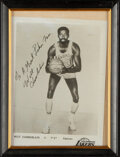 Autographs:Photos, Wilt Chamberlain Signed Photograph. Offered is a ...