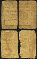Colonial Notes:Pennsylvania, Pennsylvania June 18, 1764 5s Two Examples Good-Very Good or Better.. ... (Total: 2 notes)