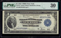 Fr. 712 $1 1918 Federal Reserve Bank Note PMG Very Fine 30