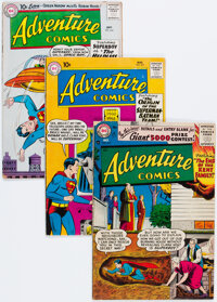 Adventure Comics Group of 5 (DC, 1956-60) Condition: Average VG.... (Total: 5 )