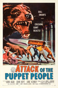 Movie Posters:Horror, Attack of the Puppet People & Other Lot (American Internat...