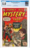Silver Age (1956-1969):Superhero, Journey Into Mystery #87 (Marvel, 1962) CGC VG/FN 5.0 Off-white to white pages....