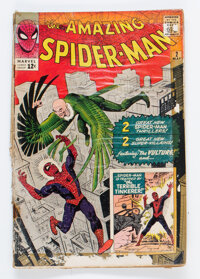 The Amazing Spider-Man #2 (Marvel, 1963) Condition: FR