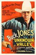 Movie Posters:Western, Unknown Valley (Columbia, 1933). Fine+ on Linen. O...