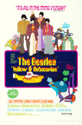 Movie Posters:Animation, Yellow Submarine (United Artists, 1968). Folded, Very Fine...