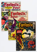 Silver Age (1956-1969):Superhero, Fantastic Four Group of 13 (Marvel, 1963-71) Condition: Average GD.... (Total: 13 )