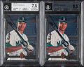 Baseball Cards:Lots, 1994 SP Alex Rodriguez BGS Graded Rookie Pair (2)....