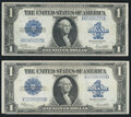 Fr. 237 $1 1923 Silver Certificate Extremely Fine-About New; Fr. 238 $1 1923 Silver Certificate Very Fine-Extremely Fine...