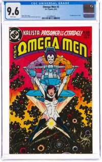The Omega Men #3 (DC, 1983) CGC NM+ 9.6 White pages