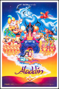 """Movie Posters:Animation, Aladdin (Buena Vista, 1992). Rolled, Very Fine+. One Sheet (27"""" X 41"""") DS. Animation.. ..."""