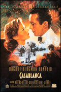 """Movie Posters:Academy Award Winners, Casablanca (MGM/UA Home Video, R-1992). Rolled, Very Fine-. 50th Anniversary Video Poster (27"""" X 41"""") C. Michael Duda..."""