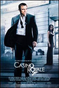 """Casino Royale (MGM, 2006). Rolled, Very Fine-. One Sheet (27"""" X 41"""") DS Advance. James Bond"""